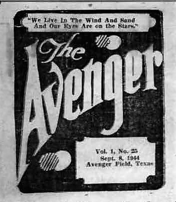 Copy of Vo1 1 No 25 - The AVENGER, the WASP newspaper, 44-w7 Graduation Issue