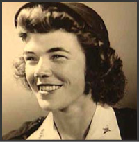Dawn Seymour - 43-W5, Past President of WASP WWII, B-17 pilot