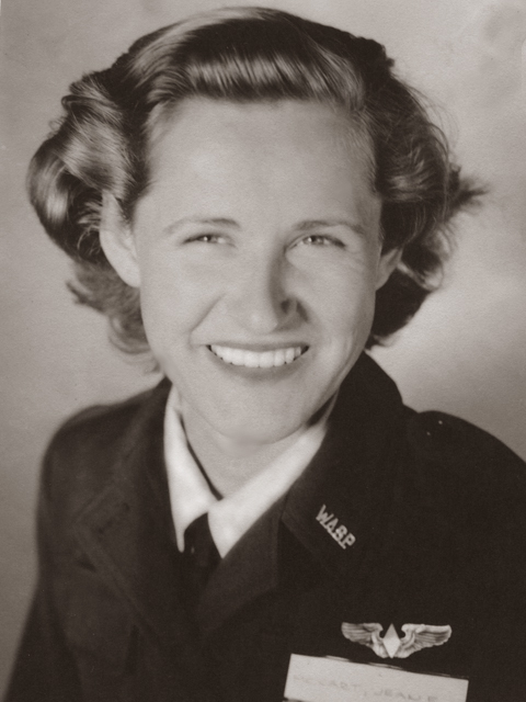 Jean McCart, assigned Romulus Air Base