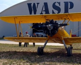 At the WASP National Museum Homecoming